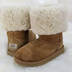 UGG Kids Winter Boots Camel/Tan